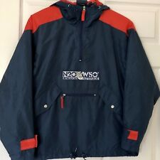 Vintage Warner Brothers Men's Jacket Bugs Bunny It's All Attitude SZ S Navy/Red