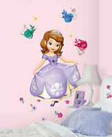 SOFIA THE FIRST GiaNT WALL DECALS NeW Disney Princess Stickers Girls Room Decor