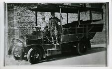 RB061 Old Postcard-sized PHOTOGRAPH - Vintage Bus - Worthing Motor Services