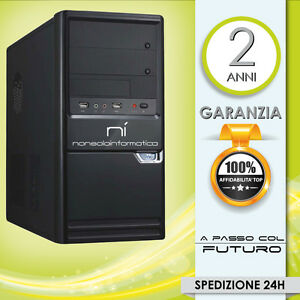 PC DESKTOP COMPUTER FISSO INTEL QUAD CORE 2.0GHZ RAM 4GB/HD 500GB/DVD/WIFI/HDMI