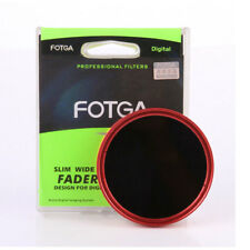Fotga Filtro ND Variabile da ND2 a ND400 per Obiettivi Diametro 77mm Frame Rosso