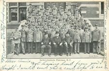 Letter Carriers (& Dignitaries) Pose On The Steps, Paterson, New Jersey NJ 1907
