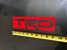 TRD decals - RED - Set of 2 (Premium)