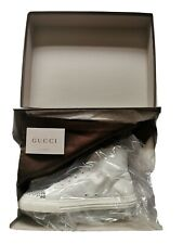 Gucci High Top Rare Studded white Trainers size 9.5 SOLD OUT WORLDWIDE