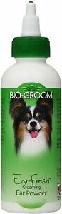Bio Groom Ear Fresh Medicated Grooming Powder 24 Grams Dog Groom Dry Ears