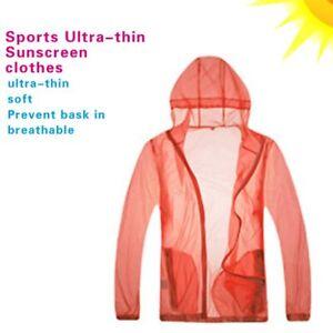Unisex Long Sleeve Sun Protect Hooded Fishing Shirts Breathable Light Clothing