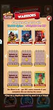 Coin Master Cards Warriors Set White Cards (3 cards)