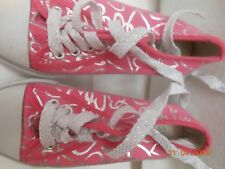 Mädchen Baumwolle Schuhe Rosa Gr. 33