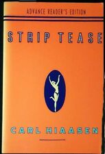 Strip Tease:A Novel Carl Hiaasen Advance Reader's Ed. Uncorrected Proofs SIGNED