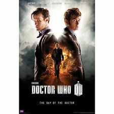 BBC DR WHO DAY OF THE  DOCTOR POSTER PRINT NEW 24x36 FREE SHIPPING