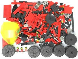 LEGO 4151 2x Gitterplatte Platte 8x8 rot  Space aus 6989 Mega Core Magnetizer