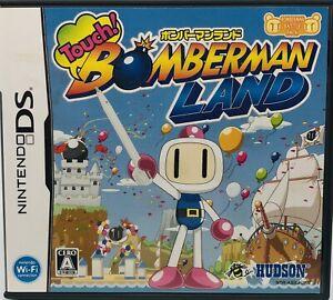 Nintendo DS Touch! Bomberman Land Japan Version US Seller