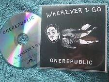 OneRepublic ‎– Wherever I Go Label: Polydor  Records UK Promo CD Single