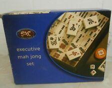 SAC Executive Mah Jong Set New Open Box Unused All Still Sealed Inside 100%
