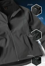 Jb's wear Mens Layer soft Shell Slim Fit Jacket Micro Fleece Lining MobilePocket