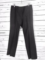 New York & Co Womens Dress Pants Sz 10 x 31 Black Career Straight Leg Ladies