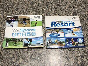 Nintendo Wii Sports & Resort In original Case