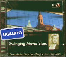 "SWINGING MOVIE STARS "" DEAN MARTIN-BING CROSBY-JOAN CRAWFORD ECC..""CD SIGILLATO"
