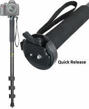 """72"""" HEAVY DUTY MONOPOD WITH CASE FOR SAMSUNG HMX-H304 HMX-H300"""