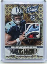 2015 PANINI #56 MARCUS MARIOTA 4-COLOR PATCH ROOKIE RC, TENNESSEE TITANS, 101815