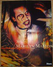 █▬█ Ⓞ ▀█▀  Marilyn Manson Ⓗⓞⓣ Bolt Thrower Ⓗⓞⓣ 1 Poster  Ⓗⓞⓣ 45 x 58 cm Ⓗⓞⓣ