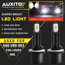 2X AUXITO 880 899 893 Fog Light Driving Bulbs DRL LED For GMC Sierra 1500 99-06