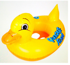 Inflatable duck baby boating swimming seat