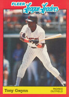 Tony Gwynn 1989 Fleer #19 San Diego Padres baseball card