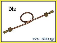 Umfüllbogen Stickstoff Umfüllschlauch für Gasflasche N2 (200 bar)