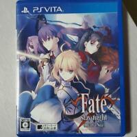 PS VITA Fate stay night Realta Nua PlayStation PSV Japan Import Game