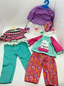 "Doll Clothes Lot My Life 18"" Doll Dress Pants Shirt My Generation"