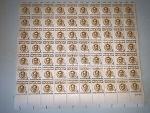 US Stamps SC# 1110 Simon Bolivar 4c sheet of 70 MNH 1958