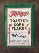Vintage Collectible Tin Can 1992 Kellogg's  Toasted Corn Flakes