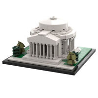 Modular Buildings Jefferson Memorial Architecture Building Blocks Toys Sets
