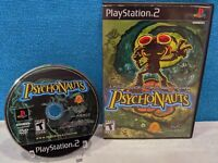 Psychonauts (Sony PlayStation 2, 2005) Tested & Working