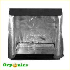 Hydroponics Aluminum Foil Mylar Grow Room Tent -0.8Mx0.45Mx0.8M