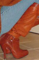 REPORT SIGNATURE 'MERCER' HI HEEL SLOUCH OVER THE KNEE/KNEE HIGH BOOTS 9