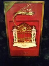 LENOX CHRISTMAS ORNAMENT FIRST YEAR IN THE NEW HOME 2002 NIB HOLIDAYS DECORATION