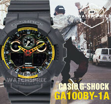 Casio G-Shock Special Color Model Sporty Mix Design Watch GA100BY-1A