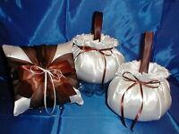 1 Pillow   YOUR Colors 2 Custom Flower Girl Baskets