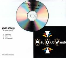 LAURA MARLING The London Town EP 2007 UK 4-track promo test CD