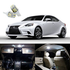 15 x Xenon White LED Interior Lights For Lexus IS250 IS350 IS200t 2014 - 2017