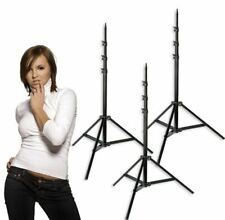 3 Light Stands Photography Video Studio Lighting Stands With Cable Ties