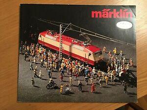 Marklin HO catalogo  in italiano -1980 . Come nuovo !