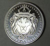 Scottsdale Silver Lion 1 oz .999 Fine Silver Round (102918)
