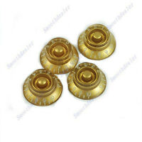 Professional Guitar Speed Knob for Les Paul Gold Brown Volume Tone
