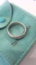 TIFFANY & CO. PLATINUM PT950 BAND RING SIZE 10.5