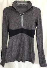 Lululemon Size 4 Full Tilt Pullover Purple Quarter Zip Jacket Yoga Athletic