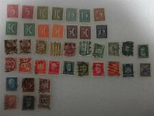 Assorted German Stamps 1920-1929 with Hinge Remnants Lot of 40
