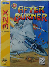 after burner - sega 32x - us - ntsc - neuf sous blister